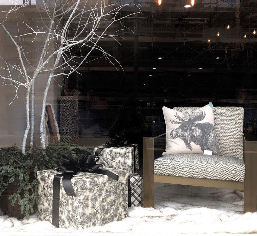Commercial Interior Design - Window Display