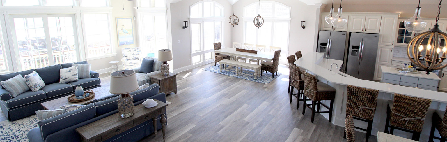 Residential Interior Design of Living Room