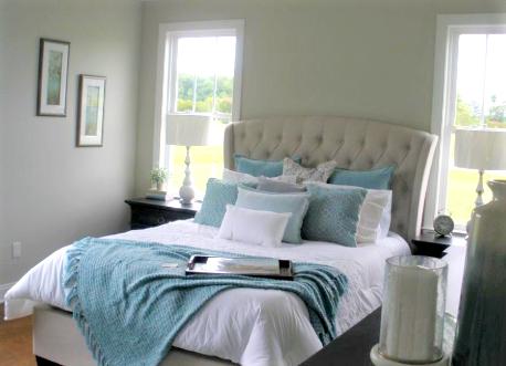 Model Home Staging Bedroom