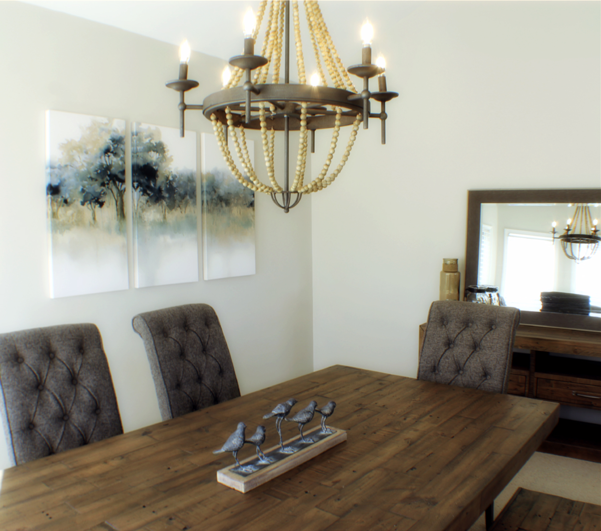 Dining Room Staging Services